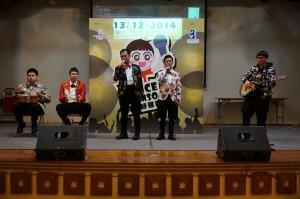 峰之驕子擔任「特奧好聲音2」決賽的表演嘉賓 01